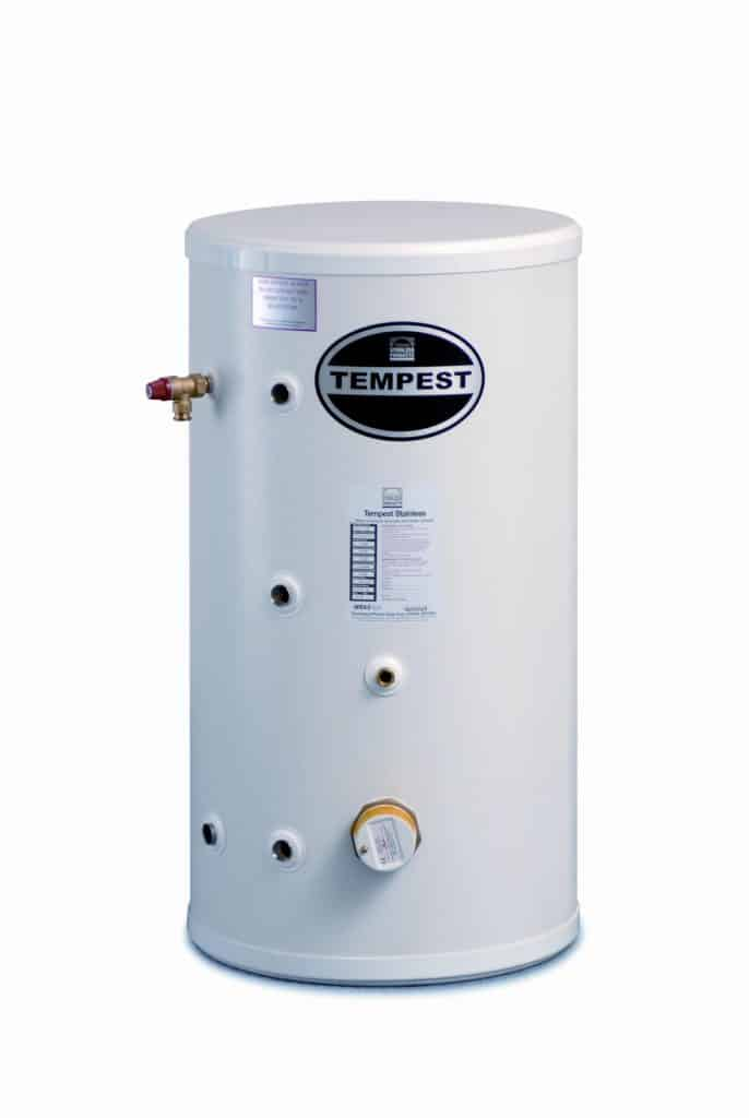 Telford Tempest 300 Litre Stainless Steel Indirect Unvented Cylinder